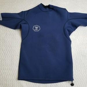 VISSLA Swim & Surf Rash Guard Shirt Men's sz Large